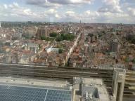Bruxelles vue de la Tour Belgacom